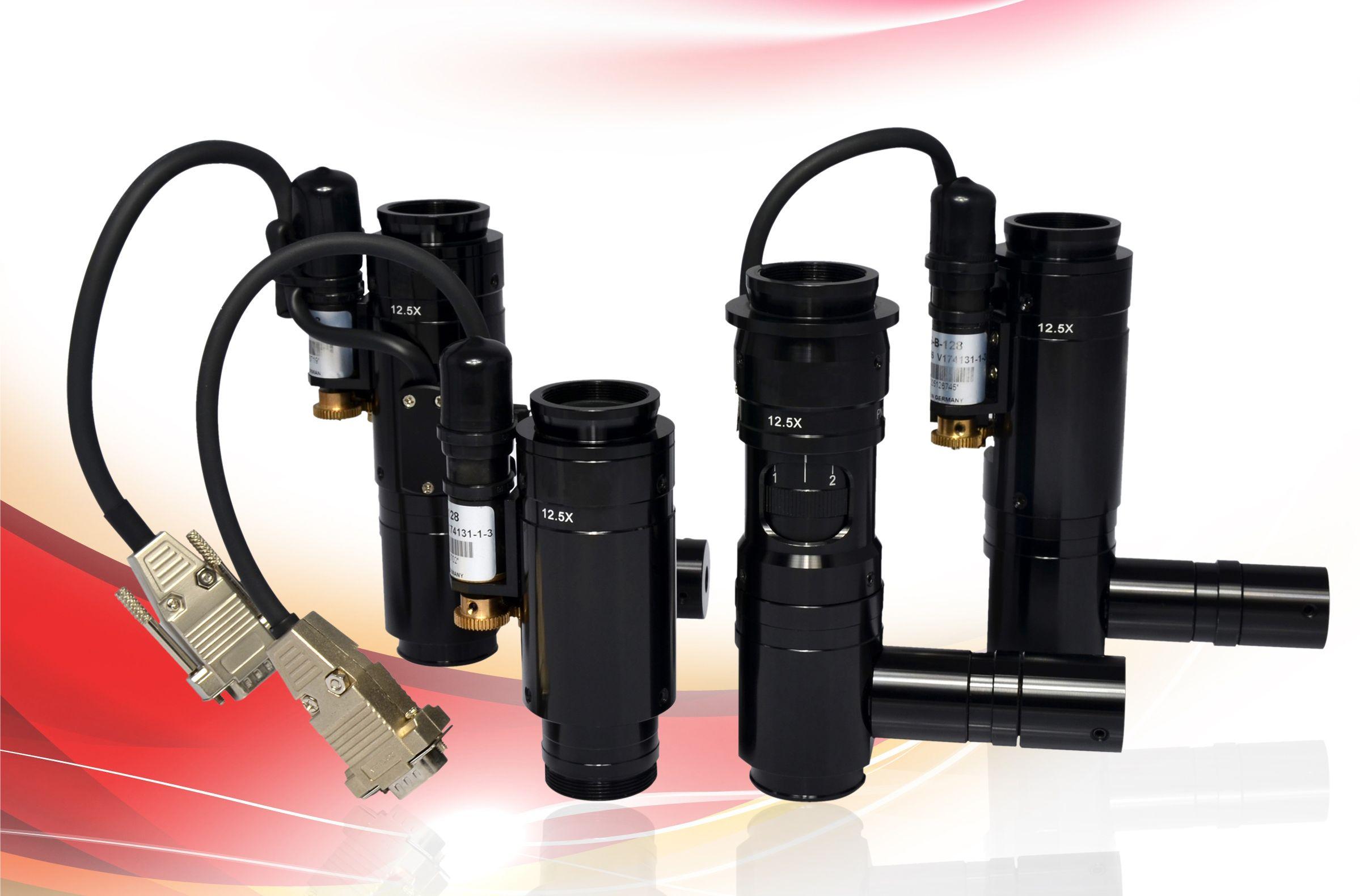 EHD Products: OPTEM Macrozoom Lenses Zoom70XL, Zoom125, Zoom160